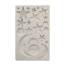 966638 Prima Marketing Mould start and moons 5x8""