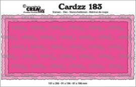 CLCZ183 Crealies Cardzz Slimline C