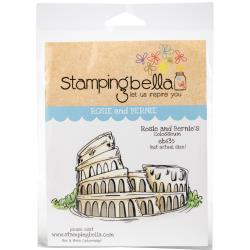 447055 Stamping Bella Cling Stamps Rosie & Bernie's Colosseum