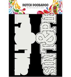 470.713.752 Dutch DooBaDoo Card Art Sint en Piet