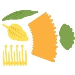 S2128 Spellbinders Shapeabilities Die D-Lites Daffodil