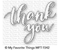 MFT-1542 My Favorite Things Thank You Die-namics