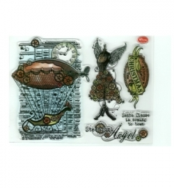 7010 - Clear Stamps - Weihnachts SteamPunk
