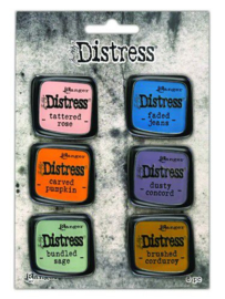 TDZS73505  Ranger Distress Pin-Carded -Distress Pin Set 8