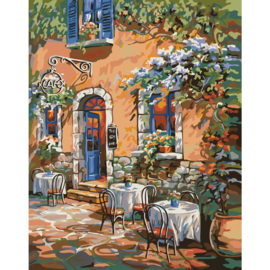 "307213 Paint By Number Kit French Country Cafe 16""X20"""