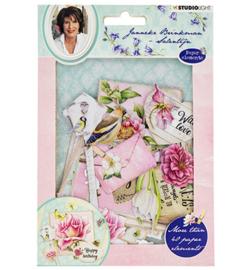 EASYJBS651 - Die Cut Paper Set Janneke Brinkman nr.651