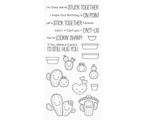 BB-095 My Favorite Things Clear Stamps Let's Stick Together
