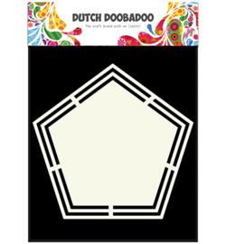 470.713.151 Dutch DooBaDoo Dutch Shape Art Pentagon
