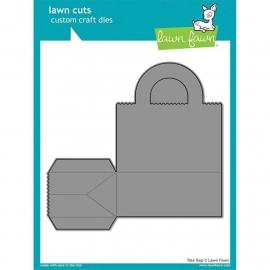 538792 Lawn Cuts Custom Craft Die Tote Bag