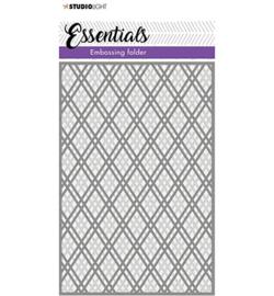 SL-ES-EMB05 - SL 3D Embossing Folder Double diamond dots Essentials nr.05