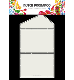 470.713.335 Dutch DooBaDoo Dutch Fold Cardart Envelope slant