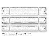 MFT-1500 My Favorite Things Fishtail Flag Trio Die-Namics