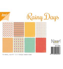 6011/0565 Papier Set Rainy Days A4