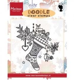 EWS2223 Stempel Doodle Christmas stocking