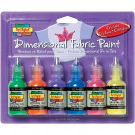 359457 Scribbles 3D Fabric Paint Crystals