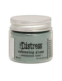 TDE71051 Tim Holtz Distress Embossing Weathered Wood Glaze