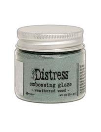 TDE71051 Tim Holtz Distress Embossing Weathered Wood Glaze