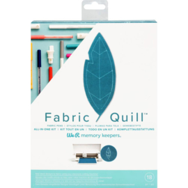 WR661078  We R Memory Keepers Fabric Quill Starter Kit