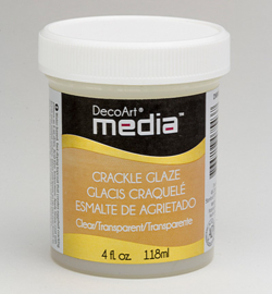 30728  Crackle Glaze Clear