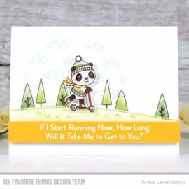 CS-521 My Favorite Things Pandas at Play Clear Stamps