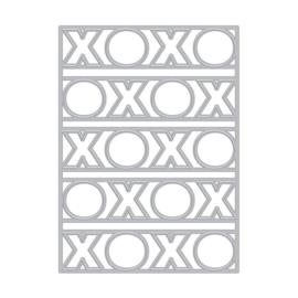 661880 Hero Arts Fancy Dies Xoxo Cover Plate