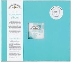 "487684 Doodlebug Album 12""X12"" Swimming Pool"