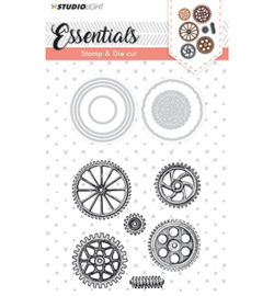 BASICSDC15 Stamp & Die Cut Essentials nr.15