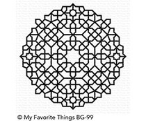 BG-99 My Favorite Things Background stempel Moroccan Mosaic