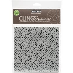 CG690 Hero Arts Cling Stamps Confetti