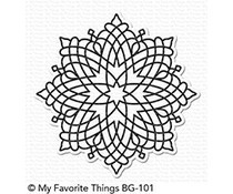 BG-101 My Favorite Things Captivating Mandala Background Stamp