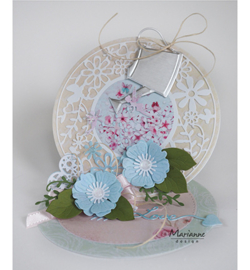 CR1458 Craftables Oval ribbon die