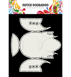 470.713.787 Dutch DooBaDoo Card Art Babyshoes 2 set