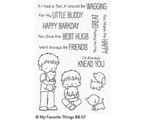 BB-57 My Favorite Things Stamp Little Buddies