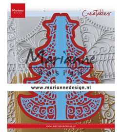LR0612 Marianne Design Cutting & embossing Gate Folding dies Christmas