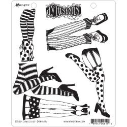 321636 Dyan Reaveley's Dylusions Cling Stamp Collections Daddy Long Legs