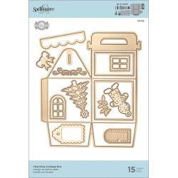 S6153 Spellbinders Shapeabilities Dies Charming Cottage Box By Becca Feeken