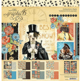 """G4502266 Graphic 45 Collection Pack Well Groomed 12""""X12"""""""
