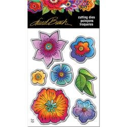 369011 Stampendous Laurel Burch Dies Blossoms