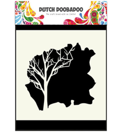 470.715.604 Dutch DooBaDoo Dutch Mask Art Tree