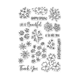 """649315 Hero Arts Color Layering Clear Stamps Life Is Beautiful 4""""X6"""""""