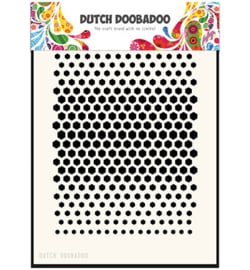 470.715.122 Dutch DooBaDoo Dutch Mask Art Honeycomb