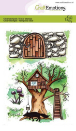 130501/1671 CraftEmotions clearstamps A6 - Magic Forest 1 Carla Creaties