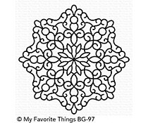 BG-97 My Favorite Things Background Stamp Magical Mandala