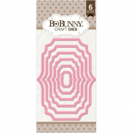 506695 BoBunny Essentials Nested Dies Fancy Frame
