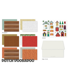 472.100.006 Dutch DooBaDoo Crafty kit Christmas Scene
