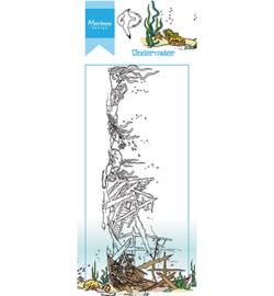 HT1620 Marianne Design Hetty's border Underwater