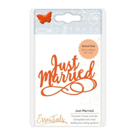 115631/1415 Tonic Studios Die miniature moments  just married 1415E