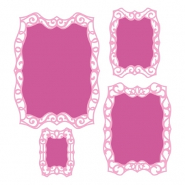 S4467 Spellbinders Nestabilities Die Labels 40 Decorative Elements