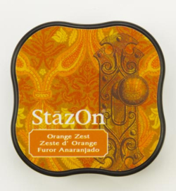 SZM-71 Tsukineko Stazon Midi Ink Pad Orange Zest
