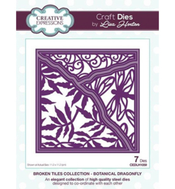 CEDLH1059 Cutting & embossing Botanical Dragonfly